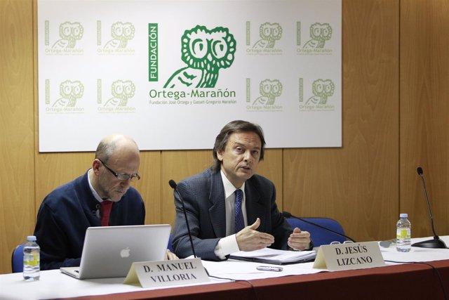 Jesús Lizcano y Manuel Villoria, de Transparencia Internacional