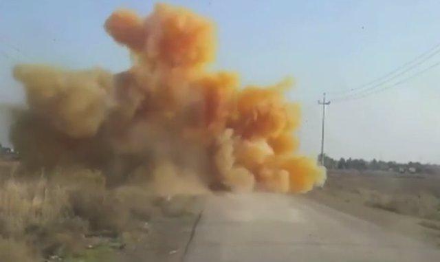 El Estado Islámico usa gas de cloro en Irak