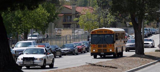 Tiroteo en escuela primaria North Park de San Bernardino, California