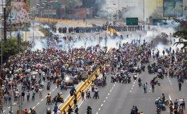 Las últimas manifestaciones opositoras en Venezuela dejan un total de 18 detenidos