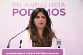 "Teresa Rodríguez: Susana Díaz pasea ""su desidia"" por el Parlamento sin ""interés"" por Andalucía"