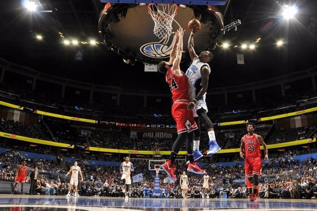 Mirotic en el Orlando Magic - Chicago Bulls
