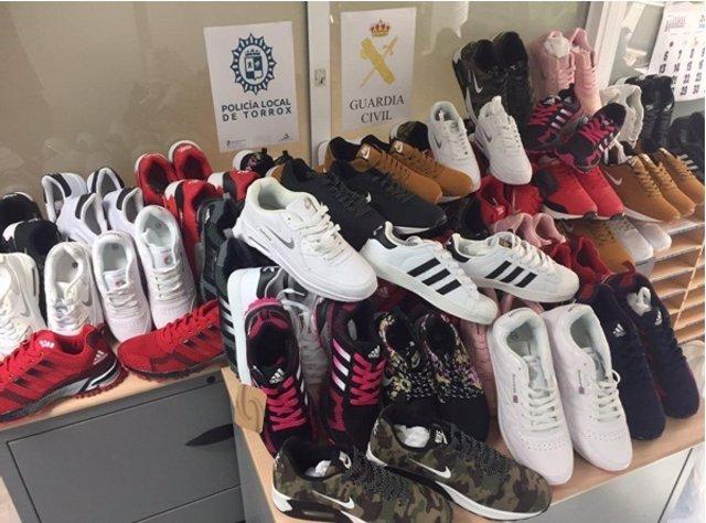 Zapatillas deporte falsificado