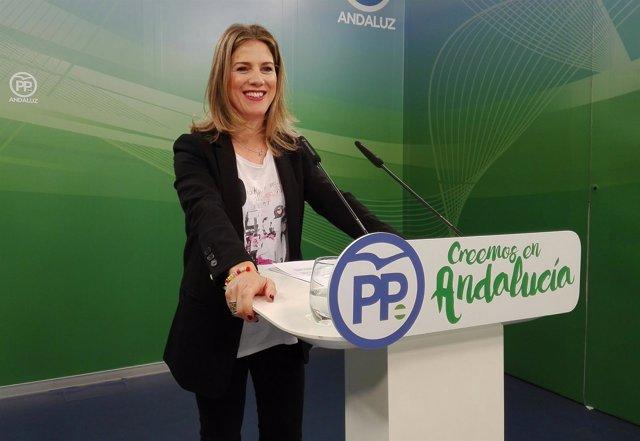 Ana Mestre, hoy en rueda de prensa