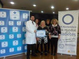 ElPozo Alimentación y sus trabajadores donan 1.500 euros a la sociedad de diabéticos de Cartagena
