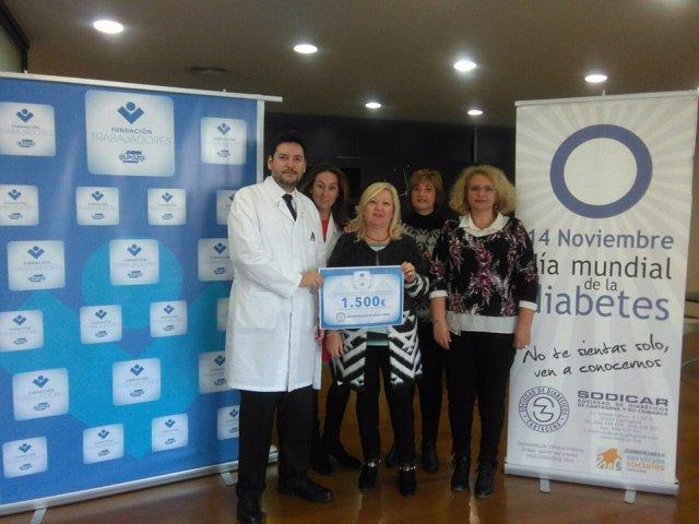 ElPozo Alimentación y sus trabajadores donan 1.500 euros a Sodicar