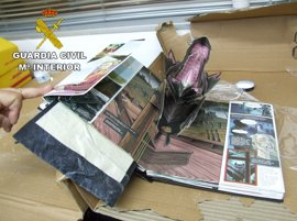 Desarticulada una banda que exportaba droga a Brasil oculta en libros infantiles de 'Drácula'