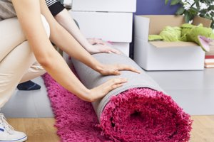 Las alfombras: limpieza de primavera