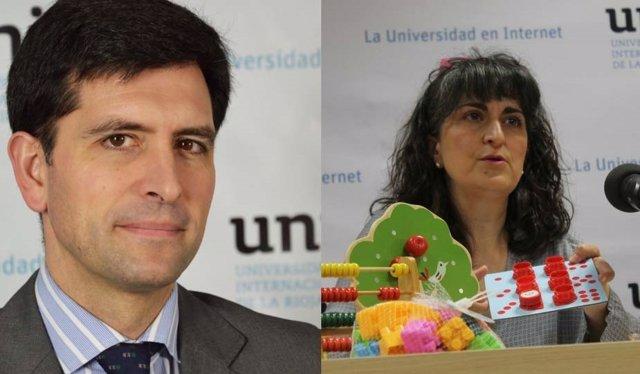 Josu Ahedo y Blanca Arteaga de UNIR