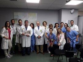 Profesionales del Hospital Virgen Macarena de Sevilla colaboran en el apadrinamiento de niños saharauis