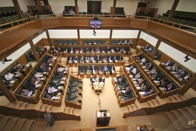 Pleno del Parlamento vasco