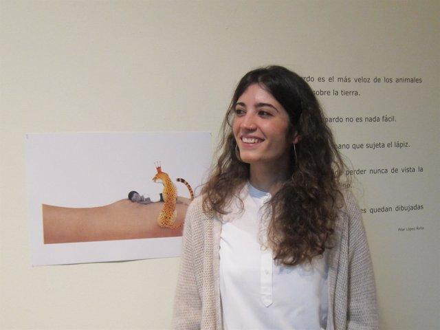 La ilustradora Ester García presenta sus trabajo en Cáceres