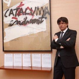 Puigdemont y Junqueras firman la quinta notificación del TSJC para que frenen el referéndum