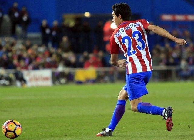 Nicolás Gaitán en el Atlético de Madrid - Real Betis