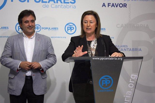 Ana Madrazo y Diego Movellán
