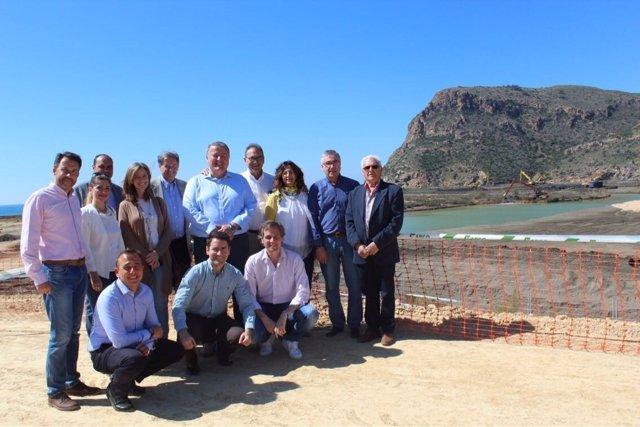 Diputados y senadores PP en Portmán