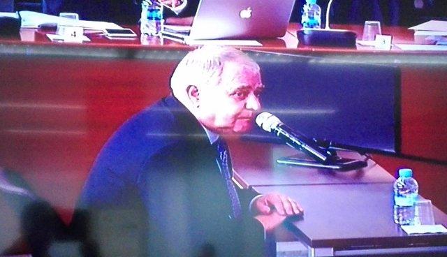 El extesorero de CDC Andreu Viloca testifica en el juicio del caso Palau