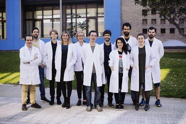 Grupo de investigadores coordinados por Francisco Ciruela