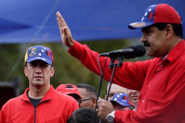 Nicolás Maduro y Tareck El Aissami