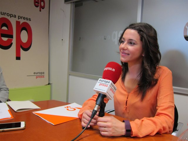 La protavoz de Cs, Inés Arrimadas
