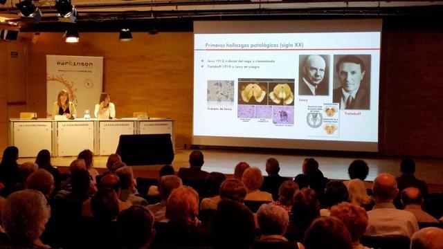 Acto de la Asociación Parkinson Madrid en el Día Mundial de esta enfermedad