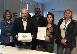 Los cuatro aspirantes a la Presidencia del PP de Granada presentan sus avales