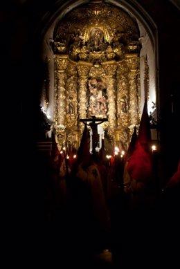 Valladolid, Salida del Cristo de las Mercedes