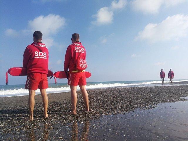 SOS Torremolinos playas salvamento socorrismo socorristas emergencias turistas