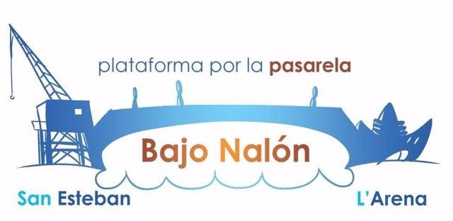 Logo de la Plataforma por la Pasarela del Bajo Nalón