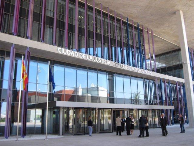 Edificio 'Fueros de Aragón' de la Ciudad de la Justicia de Zaragoza