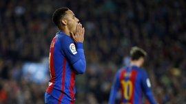 Neymar se perderá el Clásico