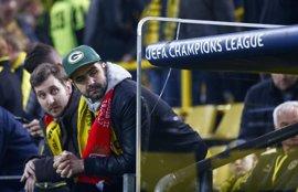 El Dortmund pide a sus aficionados que acojan a los seguidores del Mónaco