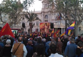 Cultura, música y poesía conmemoran en València el 85 aniversario de la II República