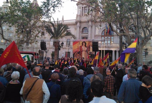 Acto para conmemorar el 85 aniversario de la II República