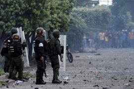 La CIDH insta al Gobierno venezolano a excluir a los militares del operativo para vigilar manifestaciones