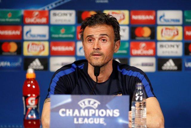 FC Barcelona Luis Enrique Martínez