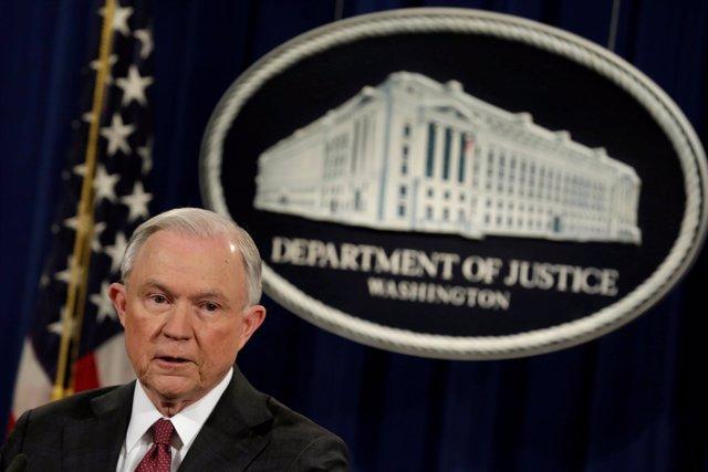 El fiscal general de Estados Unidos, Jeff Sessions