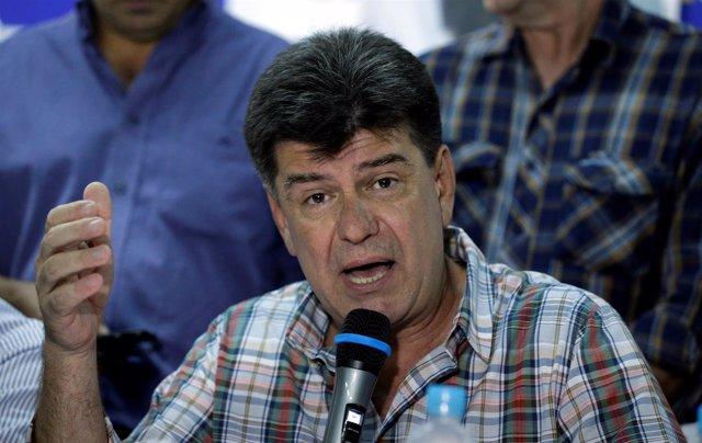 Efrain Alegre, presidente del Partido Liberal Radical Auténtico (PLRA)