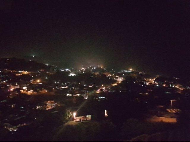 Restablecimiento de la electricidad en Mocoa