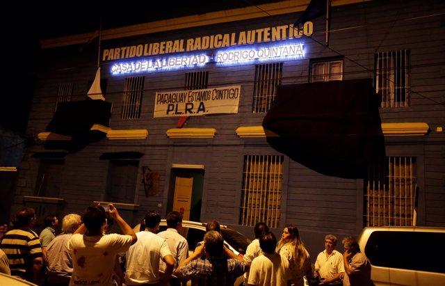 Sede del Partido Liberal Radical Auténtico de Paraguay
