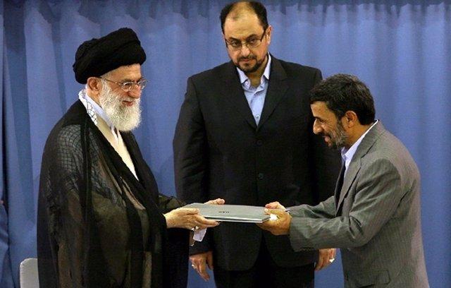 Mahmud Ahmadineyad y Alí Jamenei, en una imagen de archivo