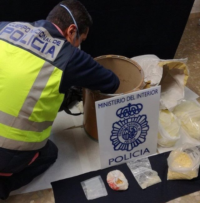 Policía Nacional se incauta de droga