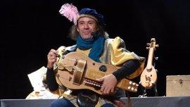 Crispín d'Olot, un juglar en la Feria del Libro Antiguo de Valladolid