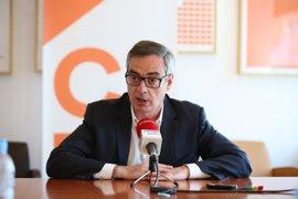 Ciudadanos no contempla la restitución de Pedro Antonio Sánchez en Murcia aunque le desimpute la justicia