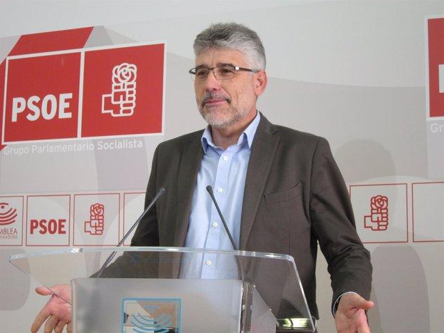García en rueda de prensa