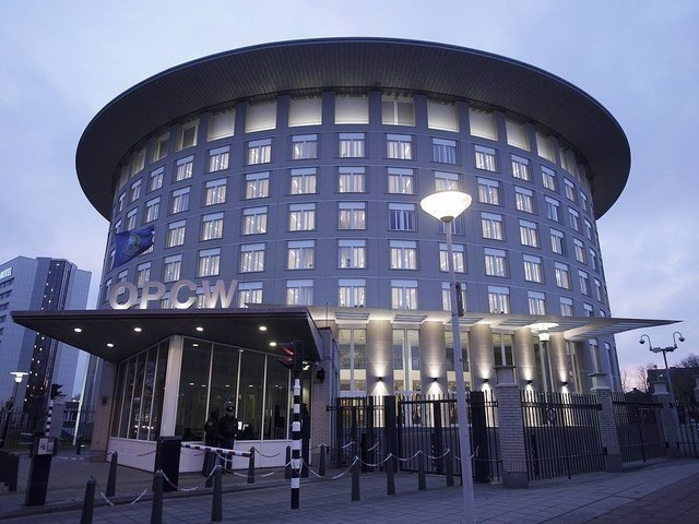 La sede de la OPAQ, en La Haya