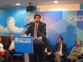 Presidenta de Asamblea propone a López Miras (PP) como candidato a presidir Murcia