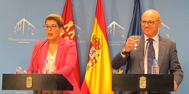 Noelia Arroyo y Juan Hernández