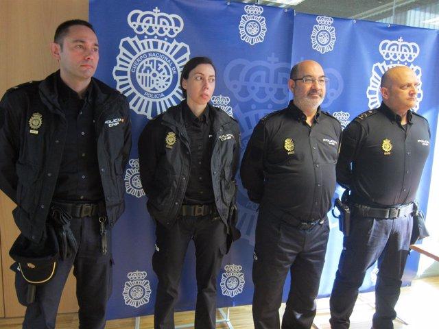 Policía Nacional de Galicia envía agentes a Oporto y Braga .