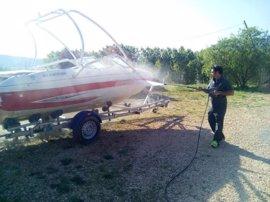 La CHE levanta la prohibición de navegar en Barasona (Huesca